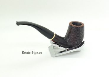 Stanwell Relief 85 sandblasted - Made in Denmark mit Messingring 9mm gefiltert